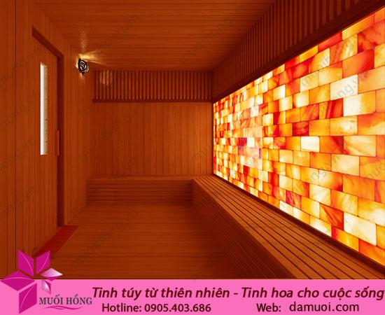 Phòng xông đá muối hồng ngoại