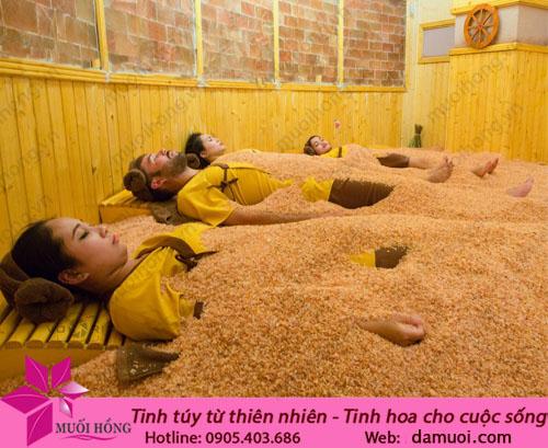 Phòng đá muối ủ