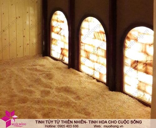 Phòng xông hơi đá muối ủ