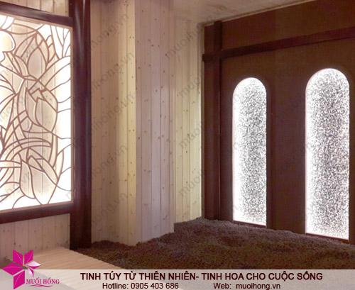 Phòng xông đá quý tại Jjim Jil Bang