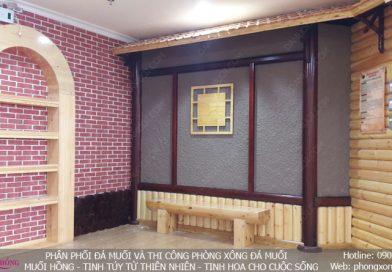 Jjim Jil Bang Hoa Sen, Hạc Thành Tower Thanh Hóa, giai đoạn trang trí hoàn thiện