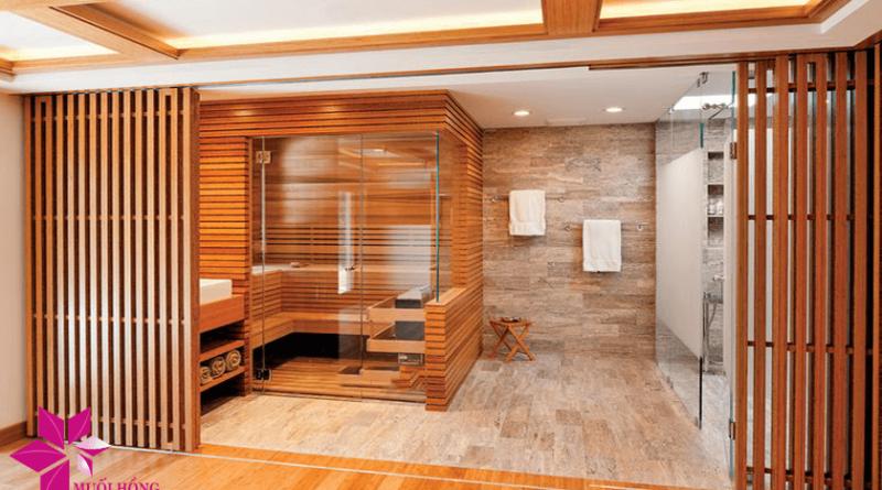 Phòng xông hơi khô – Không gian thư giãn tuyệt vời