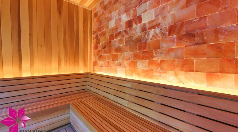 Xây phòng xông đá muối tại nhà đúng chuẩn chất lượng Hàn Quốc 1