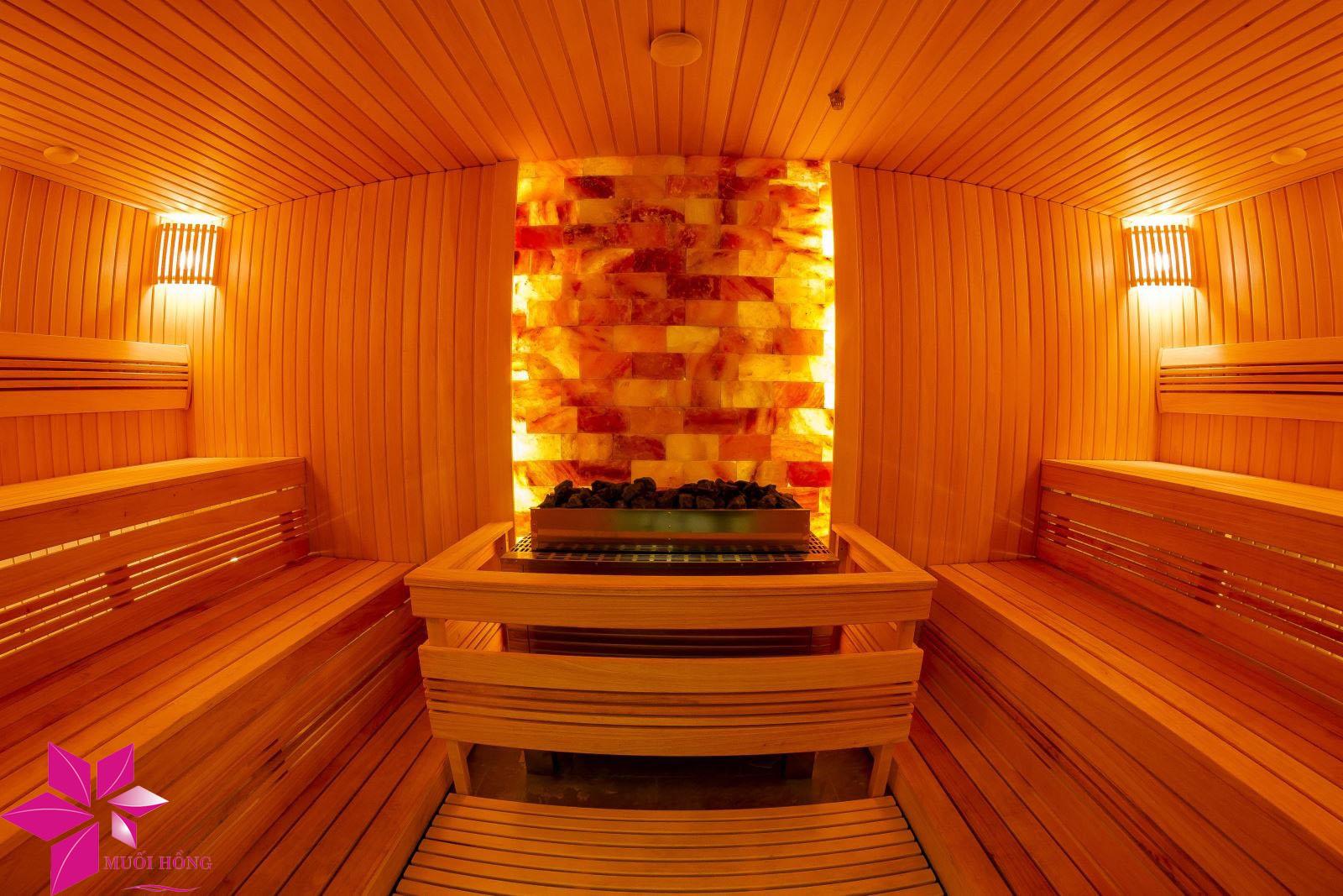 Xây phòng xông đá muối tại nhà đúng chuẩn chất lượng Hàn Quốc