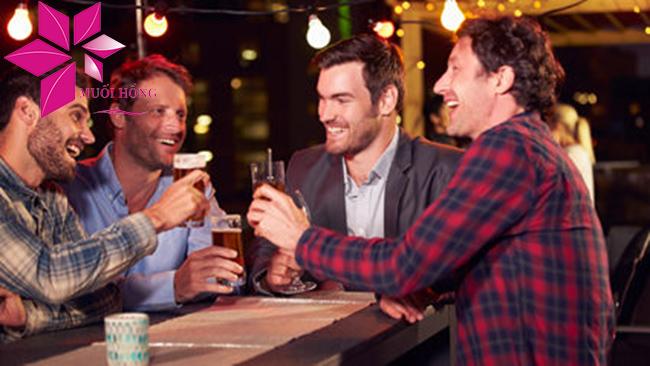 Đã uống rượi bia thì không nên xông hơi đá muối - vì sao vậy1