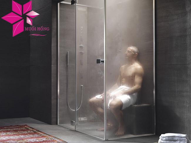 Phòng tắm xông hơi khô và ướt khác nhau như thế nào3