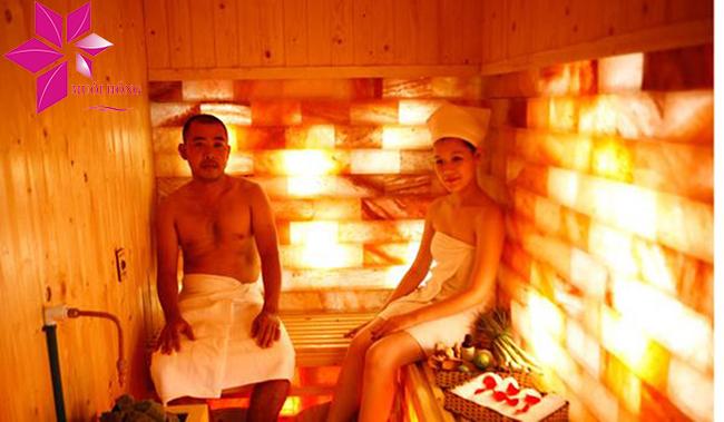 Phòng xông hơi đá muối gia đình – không gian gắn kết tình thân3