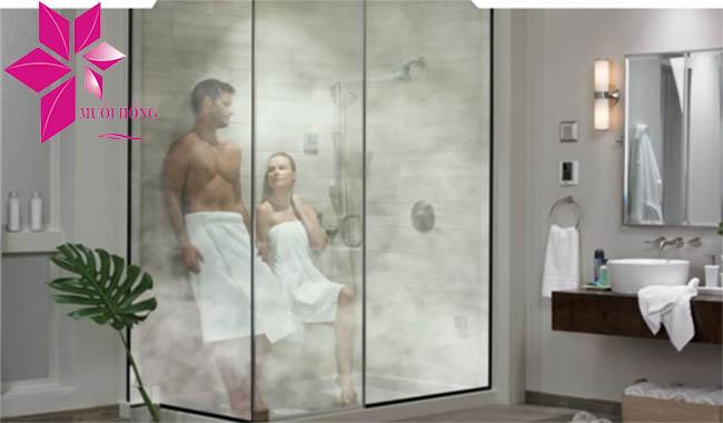Phòng xông hơi ướt được cấu tạo như thế nào1