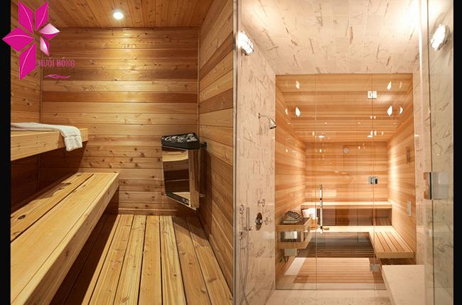 Phòng xông hơi spa được cấu tạo như thế nào, bạn đã biết chưa3
