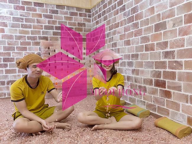 Vừa thư giãn vừa giảm cân với với phòng xông hơi đá muối Hàn Quốc4