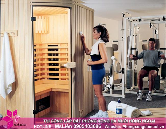 Vì sao muốn kinh doanh phòng tập gym có lợi nhuân cao nên đầu tư một phòng xông hơi_2