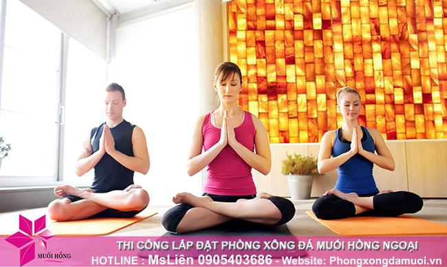 Tại sao phòng tập yoga của bạn cần một bức tường đá muối Himalaya_1