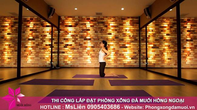 Tại sao phòng tập yoga của bạn cần một bức tường đá muối Himalaya_3