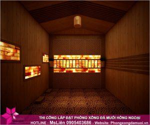 Bạn chỉ cần lựa chọn mô hình phòng sauna đá muối, vấn đề thiết kế, thi công hãy để Muối Hồng Group