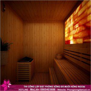Bạn chỉ cần lựa chọn mô hình phòng sauna đá muối, vấn đề thiết kế, thi công hãy để Muối Hồng Group_1