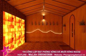 Bạn chỉ cần lựa chọn mô hình phòng sauna đá muối, vấn đề thiết kế, thi công hãy để Muối Hồng Group_2