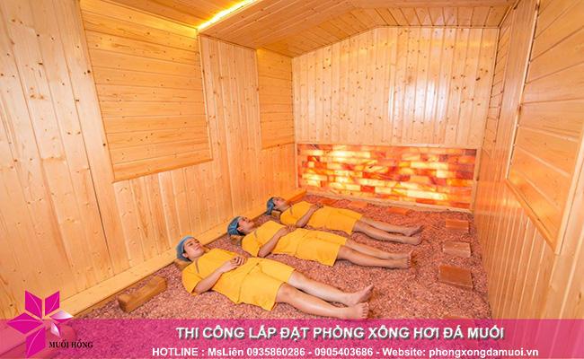 Quy trình thi công phòng xông đá muối đúng chuẩn chất lượng Hàn Quốc 1