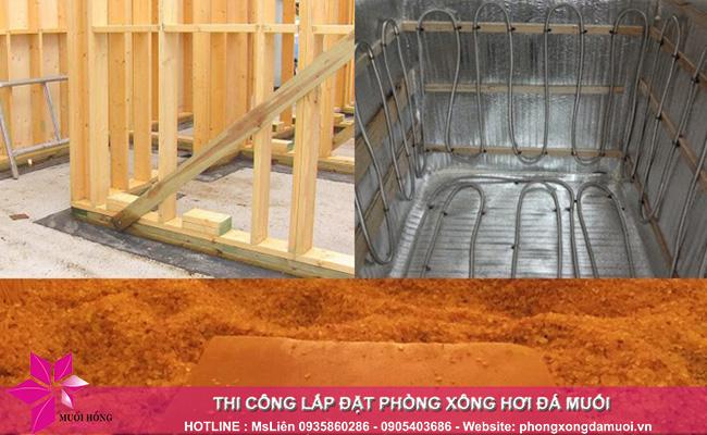 Quy trình thi công phòng xông đá muối đúng chuẩn chất lượng Hàn Quốc 2