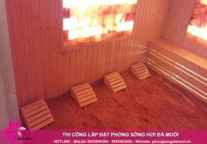 Quy trình thi công phòng xông đá muối đúng chuẩn chất lượng Hàn Quốc 4