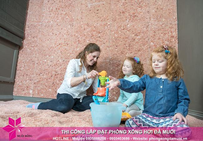 Chỉ với 6 triệu_m2, spa của bạn đã có một phòng đá muối dành cho trẻ 4