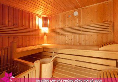 Dự trù kinh phí làm phòng xông hơi khô cho gia đình 3 – 4 thành viên sử dụng