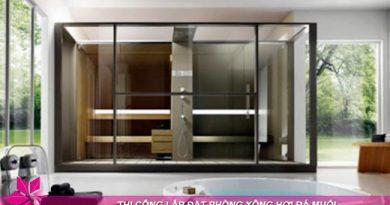 Tìm hiểu cấu tạo và công dụng của phòng xông hơi khô và ướt 1