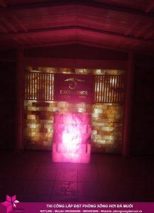 Hoàn thiện dự án phòng xông đá muối thảo dược tại Excellence Spa Cẩm Phả 3
