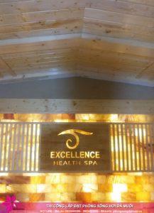 Hoàn thiện dự án phòng xông đá muối thảo dược tại Excellence Spa Cẩm Phả 4