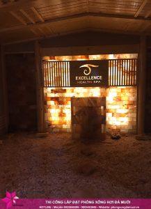 Hoàn thiện dự án phòng xông đá muối thảo dược tại Excellence Spa Cẩm Phả 5