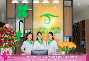Hoàn thiện dự án phòng xông đá muối thảo dược tại Excellence Spa Cẩm Phả 8
