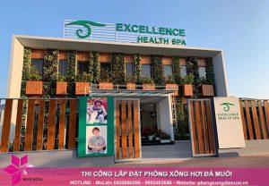 Hoàn thiện dự án phòng xông đá muối thảo dược tại Excellence Spa Cẩm Phả 9