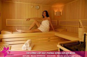 Những điều cần biết trước khi lắp đặt phòng xông sauna gia đình 1