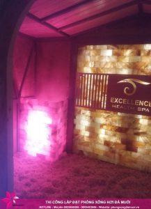 Hoàn thiện phòng xông đá muối tại Excellence Health Spa Hạ Long 8