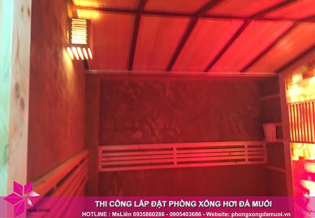 Hoàn thiện phòng xông đá muối trị liệu tại Tây Hồ, Hà Nội 3