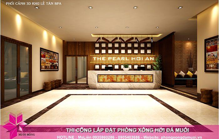 Cập nhật tiến độ thi công dự án Jjimjilbang The Pearl Hoi An 1