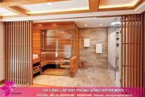 Lắp đặt phòng xông hơi khô tại nhà chất lượng với mức chi phí hợp lý 1