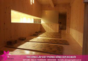 Tổng hợp các phòng xông hơi trị liệu trong một Jjimjilbang Hàn Quốc tiêu chuẩn 5