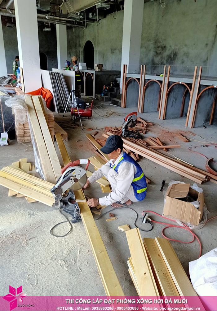 đơn vị thiết kế và thi công phòng xông hơi đá muối chất lượng 2