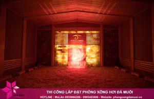 Thi công phòng xông hơi đá muối cho Spa – Khách Sạn – Resort 2