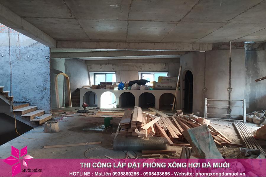 tien do thi cong cong trinh Jjim Jil Bang Bich Hoa tại Quang Ninh 2