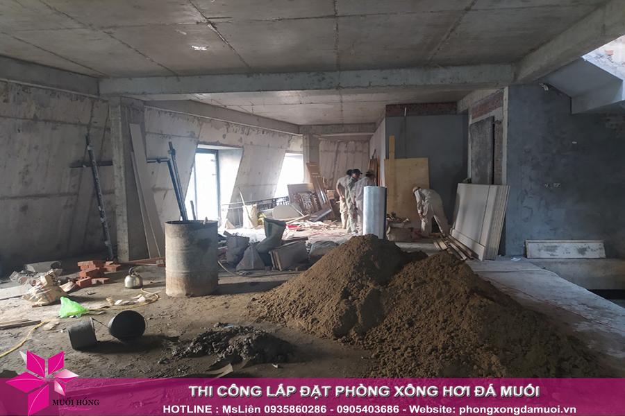 tien do thi cong cong trinh Jjim Jil Bang Bich Hoa tại Quang Ninh 3