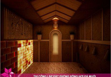 Top 4 mẫu phòng xông hơi sauna được ưa chuộng trong năm 2020