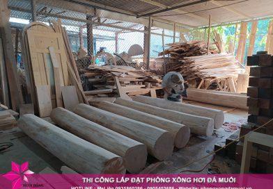 Không khí làm việc đầu năm tại xưởng gỗ Muối Hồng Group
