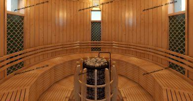 Cac phong xong hoi sauna tai Mikazuki Spa 3