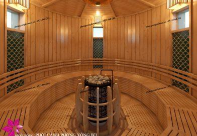Chốt sổ dự án các phòng xông hơi sauna tại Mikazuki Spa & Hotel Resort
