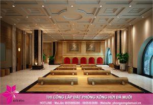 Tien do thi cong khu jjimjilbang tai Minh Phu Spa 1