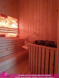 Ban giao phong xong sauna da muoi cho gia dinh chi Phuong 4