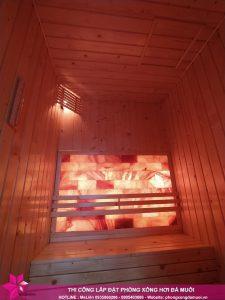 Ban giao phong xong sauna da muoi cho gia dinh chi Phuong 5