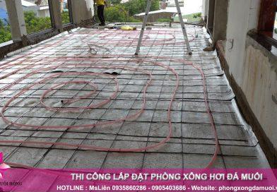 Thi công cáp sưởi sàn hồng ngoại XL tại Đà Nẵng