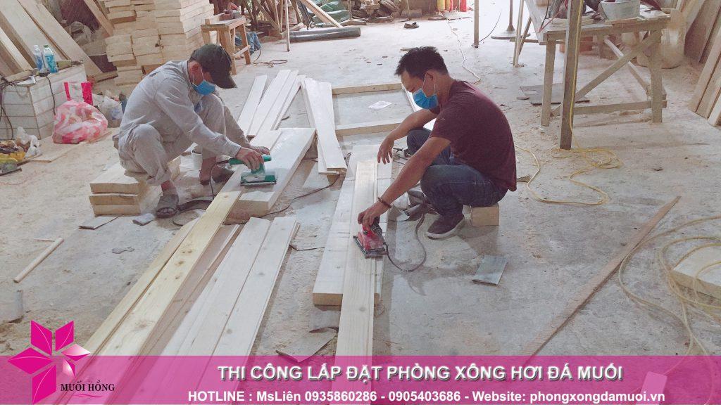 Xuong san xuat go cong ty Muoi Hong 4